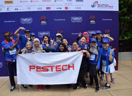 PESTECH participated in Bursa Bull Charge 2019