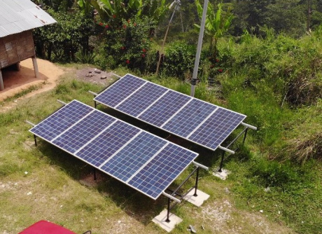 Rural Electrification Solution - 3.4kW Solar Panels