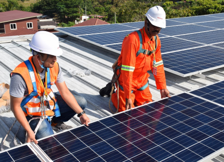 Rooftop Solar Solution at PESTECH's Office