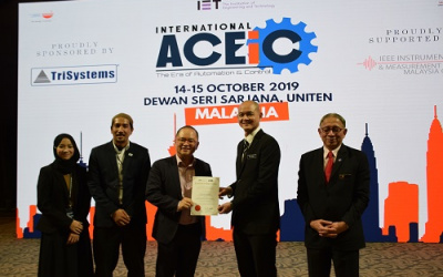 PESTECH as the Platinum Sponsor of International ACEiC 2019